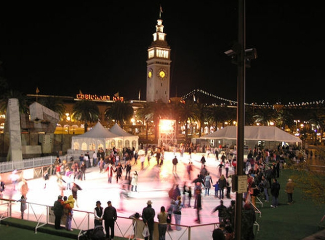 Embarcadero Ice Rink to Open Wednesday