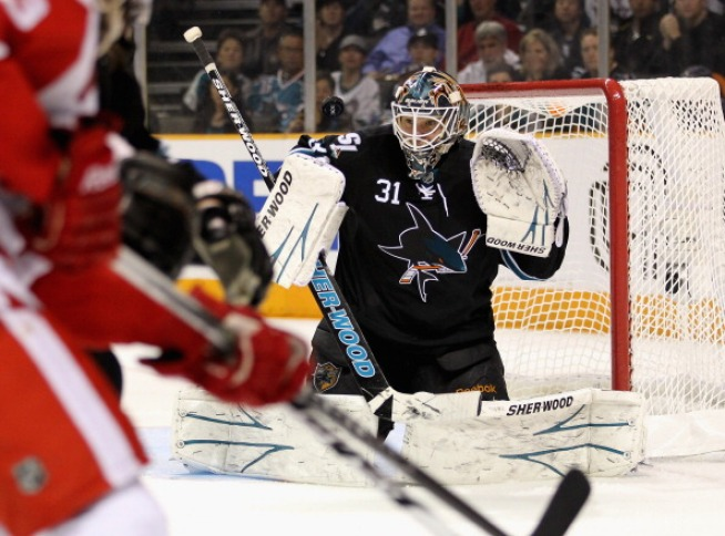 Sharks Clinch; Face Vancouver Sunday