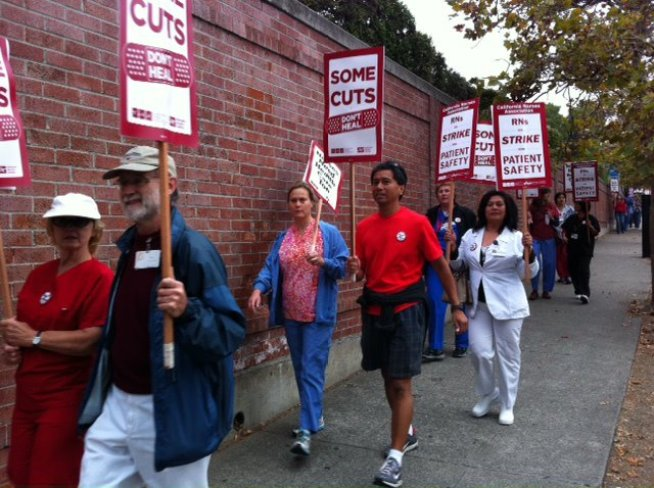Thousands of Nurses Call One Day Strike