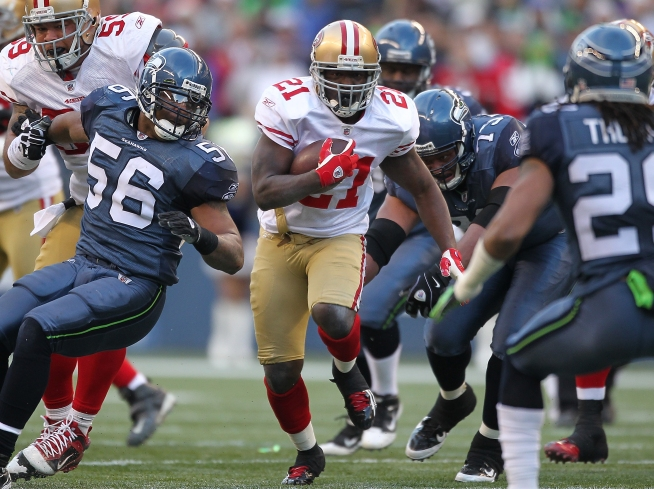 Niners Rally to Beat Seattle,