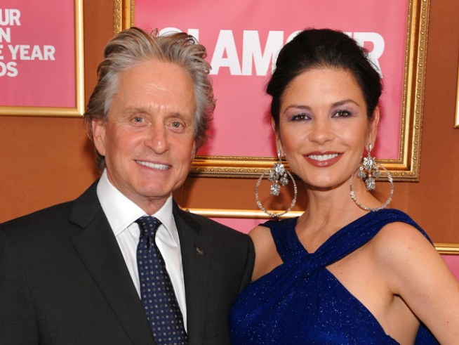 "Michael Douglas: Zeta-Jones Was ""Outed"""