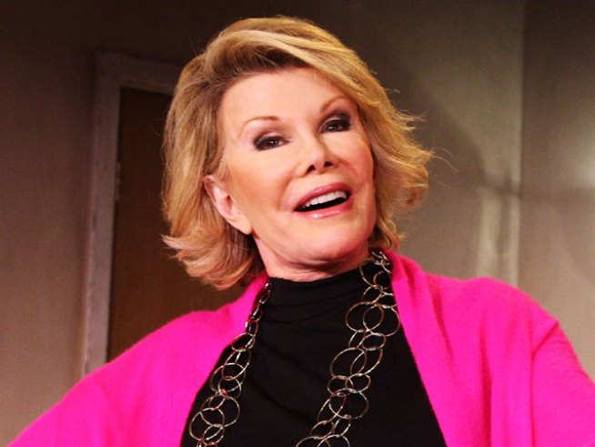 Joan Rivers Laughs-Off Costa Rica Airport Incident