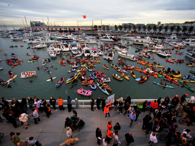 McCovey Cove After Dark