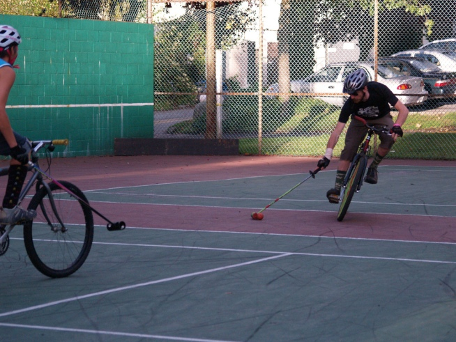 San Francisco Bike Polo Players Find New Turf