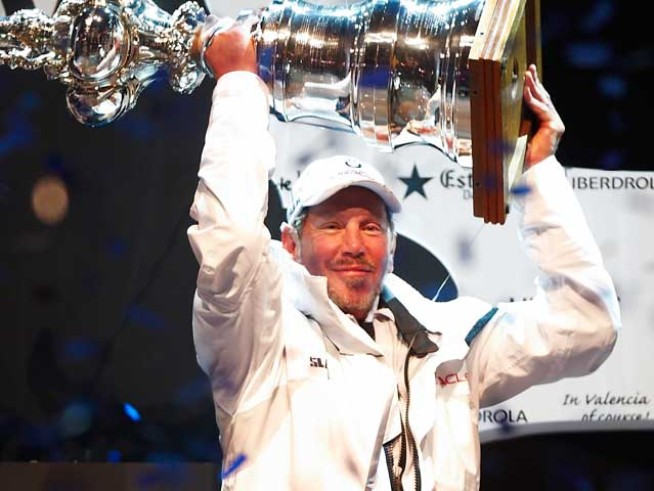 Larry Ellison Could Take His Cup and Sail East