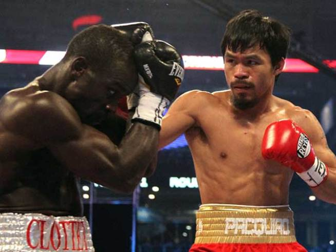 Pacquiao-Clottey Meet Before Bout