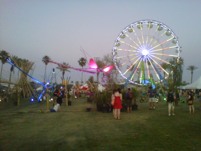 Coachella Day 1