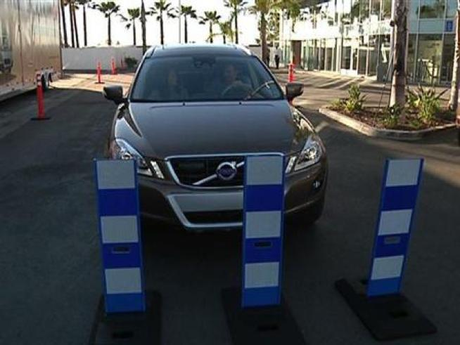 Volvo has put the Volvo XC60 on tour to show customers how its newest safety feature works.