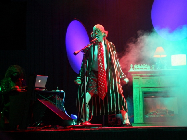 The Residents Return to Stage for Tour Kick Off