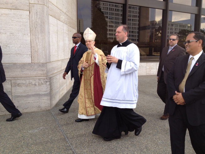 New SF Archbishop on Duty