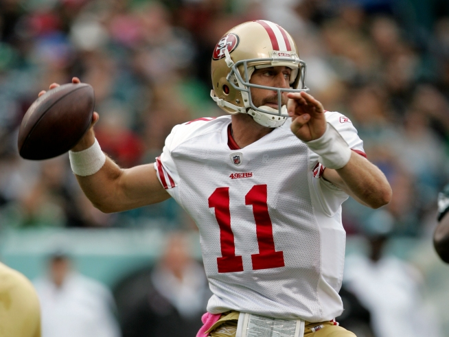 49ers' Smith In a QB Duel