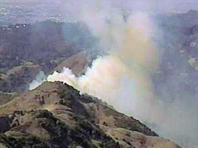 Cal Fire Wins Fight Against Strong Caldecott Winds