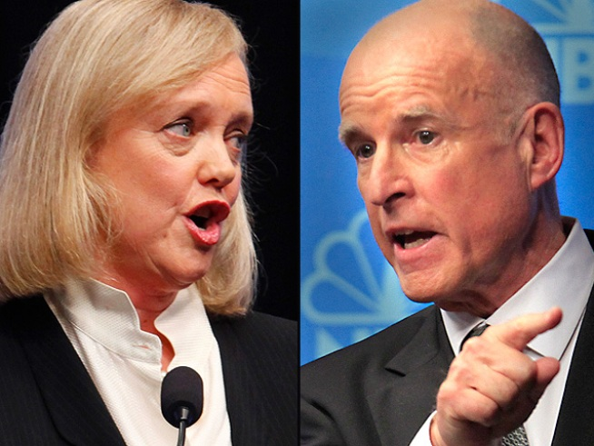 Raw Video: Meg Whitman Hits the Campaign Trail