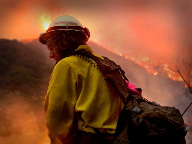 Viewer Fire Photos: Wildfires Burn North of LA