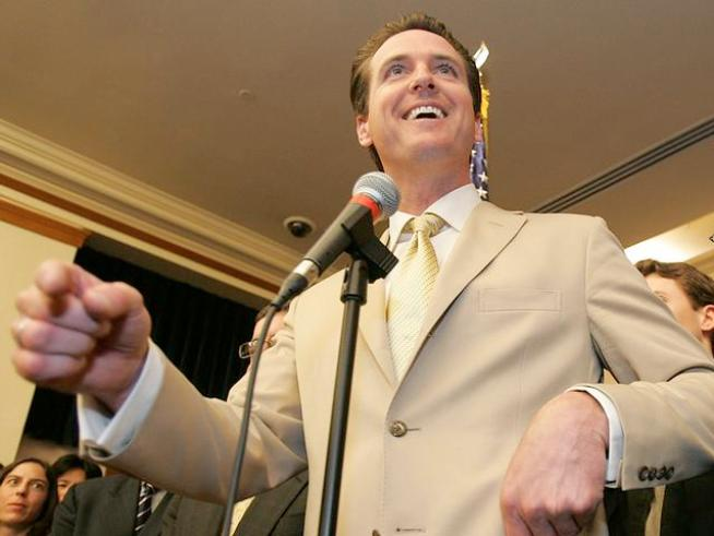 Gavin Newsom Pushing Hard Against Prop. 8