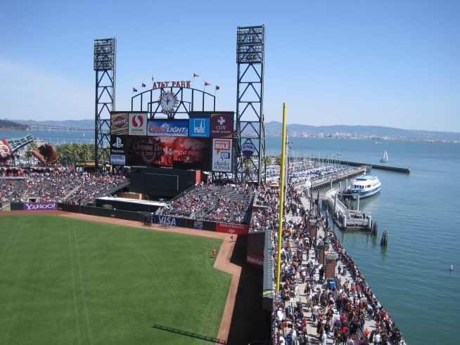 Opening Weekend at AT&T Park