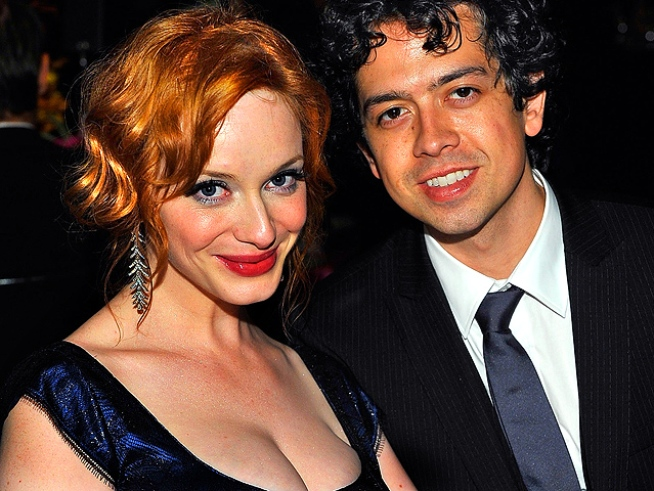 """Mad Men"" Star Christina Hendricks' Tips for Men: No Facebook Allowed"