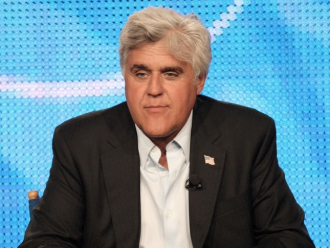 No Joke -- Leno Talks to Himself About Standup
