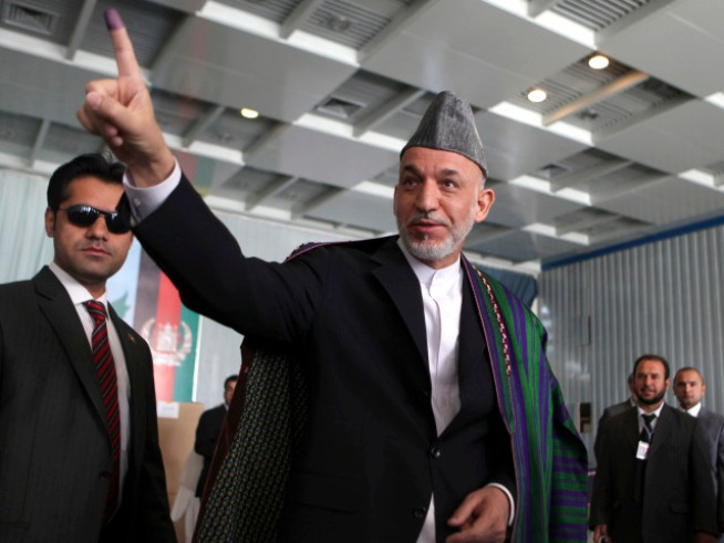 Afghan's Karzai Aided by Fraudulent Votes: Report