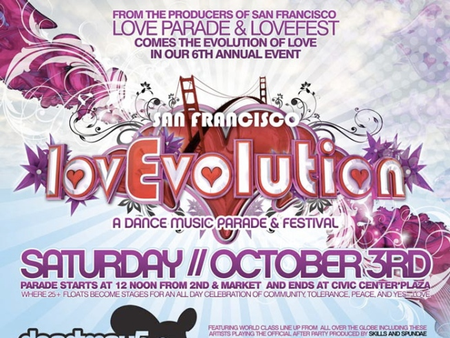 10/2-4: LovEvolution and Hardly Strictly Bluegrass