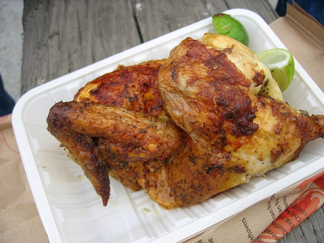 Ferry Building Serves Chicken With a Twist