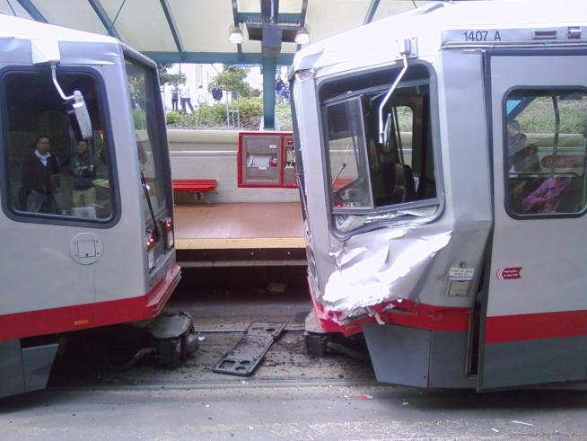 Muni Driver Black Out Only Partially to Blame For Crash