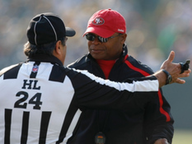 Singletary Still Fuming at Referees