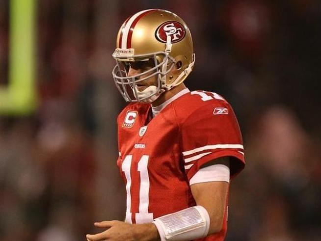 49ers head coach Mike Singletary says Alex Smith will remain his starting QB while the team owner makes a bold statement in a text.