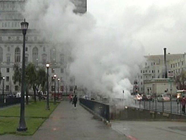 Steam Spews in San Francisco