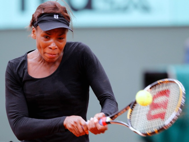 Venus Williams Ousted from French Open