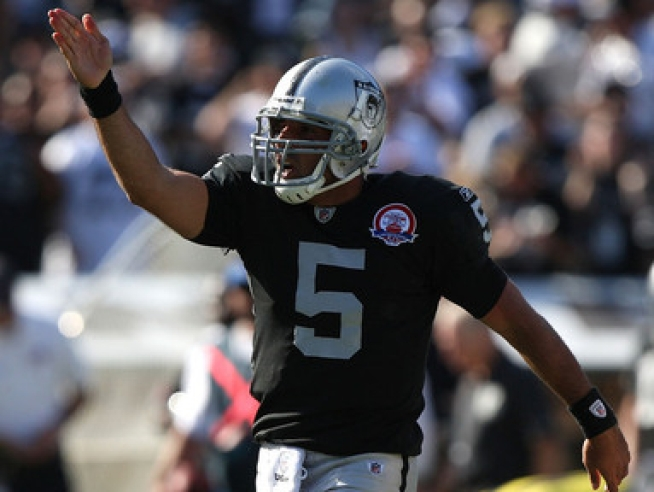 Raiders Might Start Gradkowski