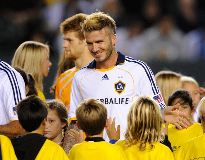 A Look Back: Beckham Scores First Goal With Galaxy