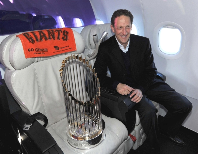 World Series Trophy Visits NBC Bay Area