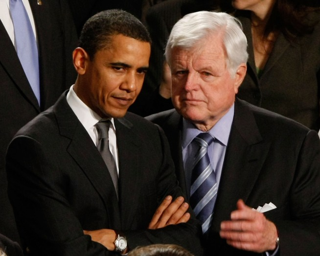 Homage to a Mentor: Obama to Give Kennedy Eulogy