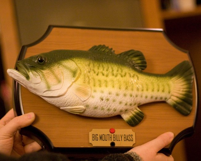 50 worst gifts of all time nbc bay area for Big mouth billy bass singing fish