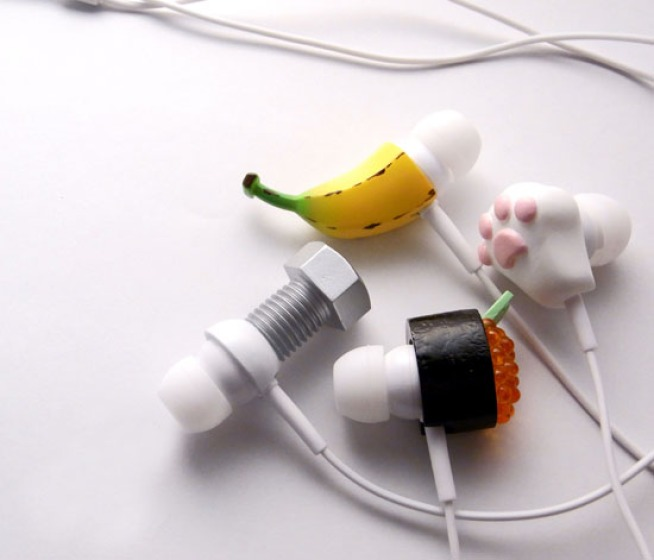Crazy Earphones Ready to Geek Up Your Halloween Costume