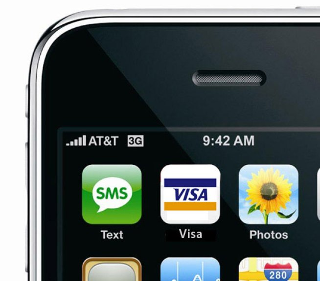 iPhones to Soon Make Wireless Visa Payments, With a Dumb Twist