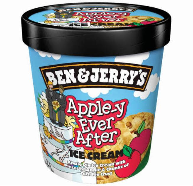 Ben & Jerry's Dedicates a Flavor to Gay Marriage