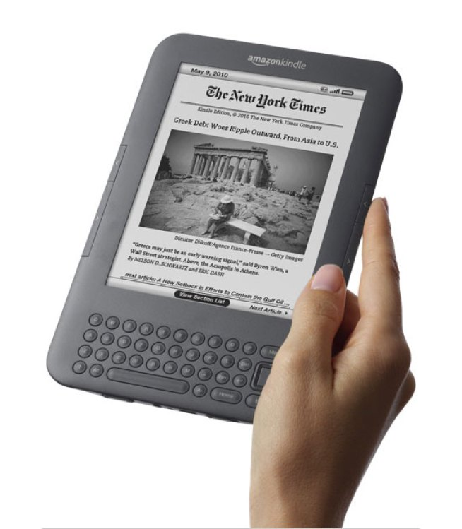 Amazon Could Follow Kindle With MP3 Players and Cellphones