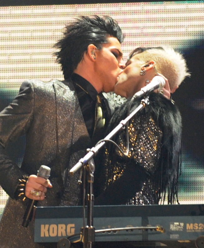 Adam Lambert's AMAs Moves Too Hot for TV