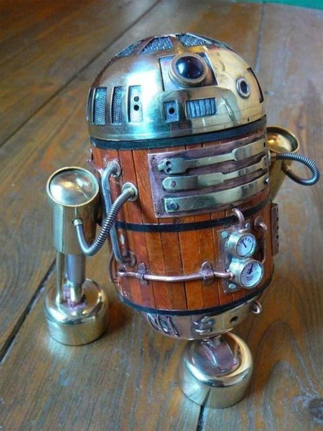 Steampunk R2-D2 Is How He Should Have Looked in the Prequels