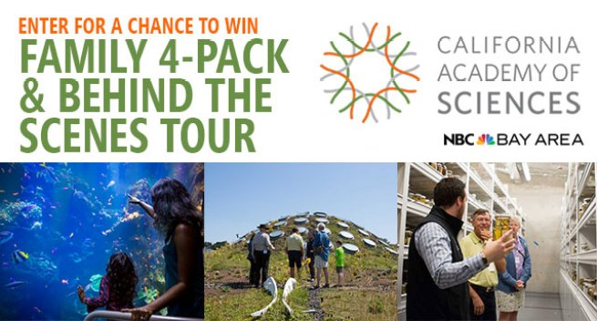California Academy of Sciences Sweepstakes