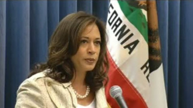California Attorney General Kamala Harris Files for Re-Election