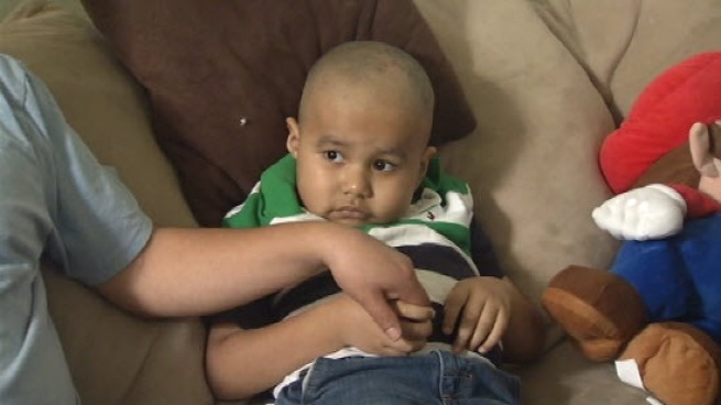 Latino bone marrow donors are few and far between, but 6-year-old Eduardo Grijalva is in need to cure his leukemia. The family is holding a bone marrow drive March 29 at River Glen Elementary in San Jose. George Kiriyama reports.