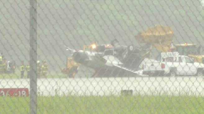 2 on Thunderbirds Jet in Ohio Accident in Good Condition