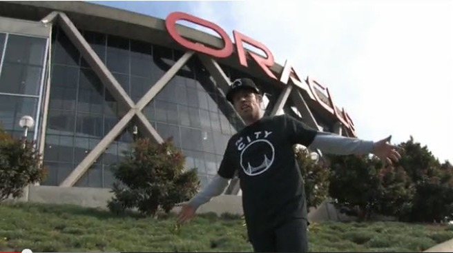 San Jose Caterer Raps For Warriors