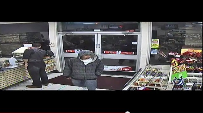 VIDEO: Man Robs 7-Eleven in San Jose at Gunpoint