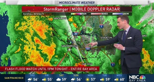 [BAY] Jeff's Forecast: Flood Watch; Rain Chance Thursday
