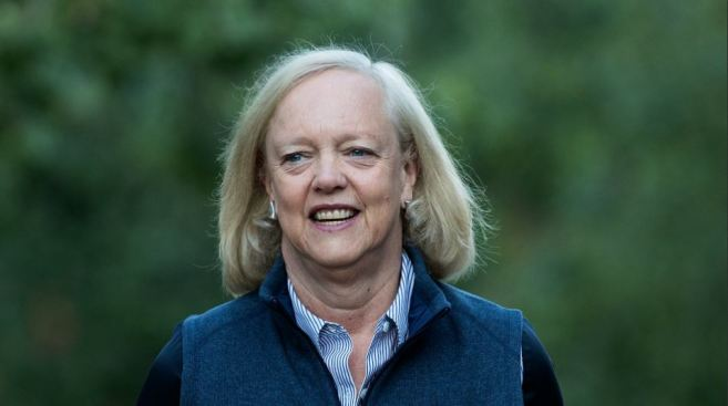 Meg Whitman to Step Down as CEO of Hewlett Packard Enterprise