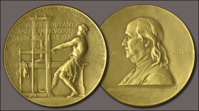 """2014 Pulitzer Prizes Announced: """"The Goldfinch"""" Wins Fiction Prize, NSA Spying Coverage Wins Public Service Journalism Prizes"""